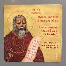 St Valentine Meme - catholic meme magnet saint valentine catholic car magnet