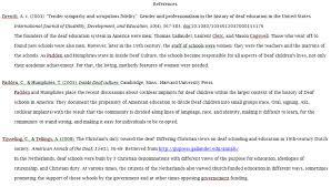 citations psychology and education st thomas