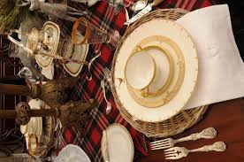 Dining Room Place Settings Turn Your Dining Room Into An English Manor For The Holidays