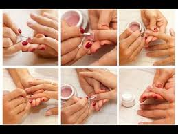 how to do simple manicure at home in urdu hindi salon style
