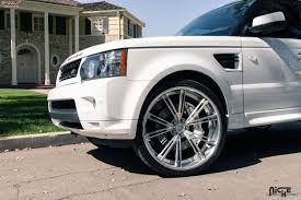 range rover custom wheels land rover range rover sport niche ritz wheels brushed chrome lip