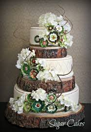 rustic wedding cake stands 18 rustic wood tree slice wedding cake base or cupcake stand for