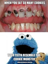 Cookie Monster Meme - cookie monster teeth dentist rancho cucamonga
