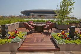 roof top gardens contemporary deck chicago by tyrone
