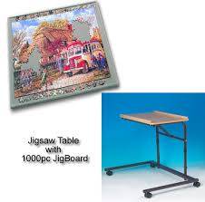Jigsaw Puzzles Tables Accessories Jigsaw Puzzles Jigtable With Jigboard At The Jigsaw