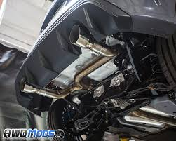the ford agency power signature catback exhaust system for the ford focus rs