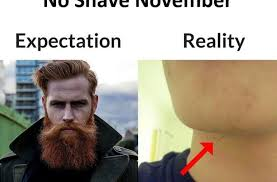 No Shave November Memes - no shave november funny pictures quotes memes funny images