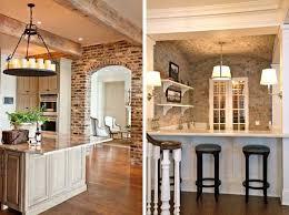 kitchens with brick walls exposed brick wallsexles walls interior designs