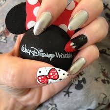 disney inspired stiletto nails nail art pinterest disney