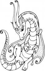 coloring pages free coloring pages mandalas dragon dragon
