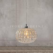 pendant light round ball lily ball lights crystal ball and