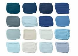 magnificent 70 blue paint swatches decorating design of blue