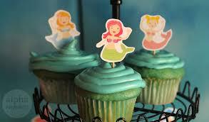 mermaid cupcakes mermaid party cupcakes and cookies alpha