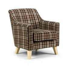 Brown Accent Chair Bloomsbury Tartan Brown Accent Chair Express Furniture Warehouse