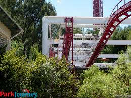 Six Flags V2 Quick Six Flags Magic Mountain Update Work Continues On Ninja