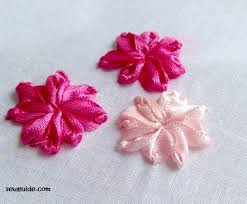 ribbon flowers 10 ribbon embroidery flowers with silk satin ribbons tutorials