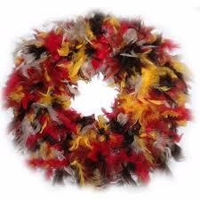 turkey feather wreath turkey feather wreath for decoration buy turkey