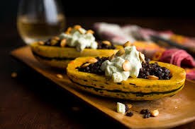 vegetarian thanksgiving meals vegetarian thanksgiving lentil stuffed delicata squash with