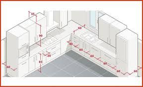 taille plan de travail cuisine dimension plan de travail cuisine luxury aménager l espace d une