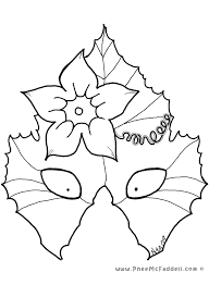 masks coloring pages kids coloring