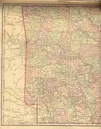 Oklahoma State Map Railroad Maps
