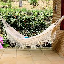 xl navy jacquard hand woven brazilian double hammock hayneedle
