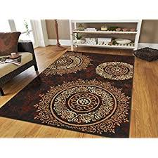 Amazon Cheap Rugs Amazon Com Large 8x11 Contemporary Rugs For Living Room Dining