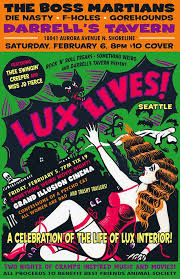Cramps Lux Interior Seattle The Cramps U0027 Lux Interior Celebrated At Lux Lives Movie