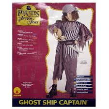 Ship Captain Halloween Costume Rubie U0027s Boys U0027ghost Ship Captain U0027 Halloween Costume Walmart