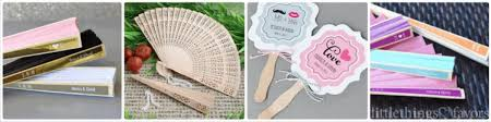 wedding fan favors wedding fans things favors