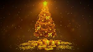 gold christmas free hd backgrounds celebrations gold christmas tree with