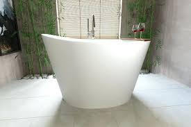 bathrooms design narrow deep soaking bathtub shower tray mini