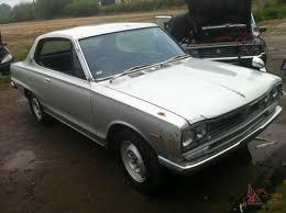 nissan hakosuka for sale 1972 nissan datsun skyline 2dr coupe kpc10 hakosuka