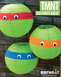 tmnt wrapping paper mutant turtle birthday party ideas pink lover