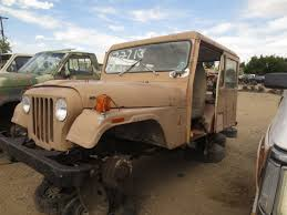 jeep old truck junkyard find 1971 am general dj 5b mail jeep the truth about cars