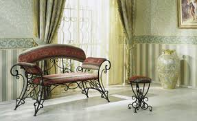 Chair In Room Design Ideas Wrought Iron Furniture Chairs And Benches Modern Interior
