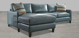Blue Sectional With Chaise Leather Sectional Artisan Leather Sectionals Living Room Leather