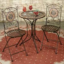Tall Outdoor Patio Furniture Tall Bistro Table And Chairs Indoor Tall Table With Two Chairs