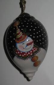engelbreit snowman resin ornament new 8 99