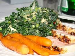 cuisiner le chou frisé salade de chou frisé noir vinaigrette au citron et au beurre d