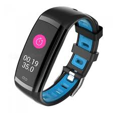 blood pressure wrist bracelet images Cd09 smart bracelet touch color screen sports wrist watch heart jpg