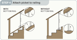 How To Install Stair Banister Stair Railing Installation Tam Rail Stair Rail Installation The