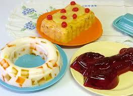 the joys of jello three thanksgiving molds