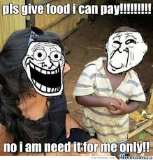 Meme African Kid - african kid is hungry by kapuhlet meme center