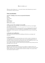 Summary Of A Resume Example by Examples Of Resumes Amazing How To Write Brefash Within 79