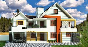 2700 square feet double floor contemporary home designs