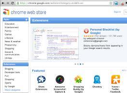 chrome google webstore chapter extensions chromium