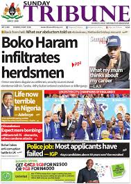 8th may 2016 by nigerian tribune issuu