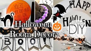 halloween bedroom decor diy halloween room decorations youtube