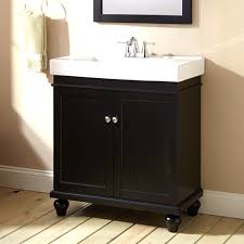 antique wk series 30 inch single sink bathroom vanity matte black